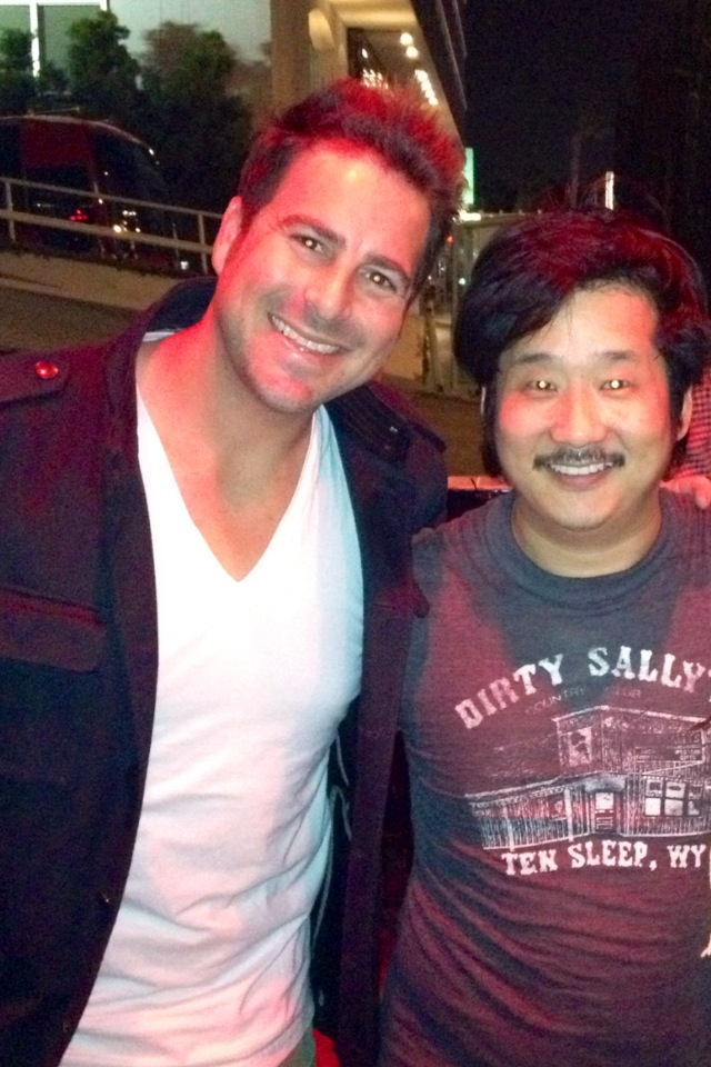 Evan Golden and Bobby Lee